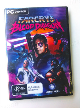 Far Cry 3 Blood Dragon (PC) Rare Australian Version