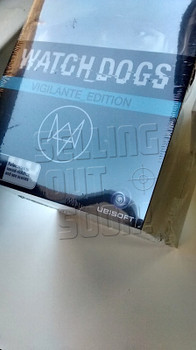 Watch Dogs Vigilante Edition (PC) Rare Australian Collectors Edition