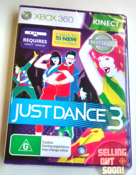 Just Dance 3 (Xbox 360) KINECT Australian Version