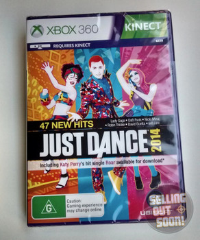 Just Dance 2014 Kinect (Xbox 360) Australian Version