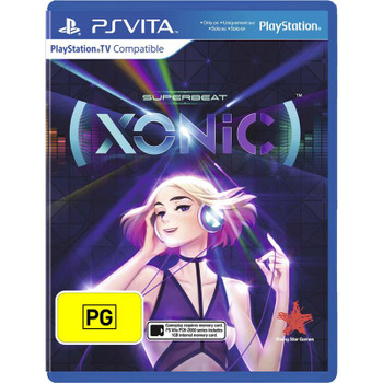 Superbeat Xonic (PS Vita) Rare PAL Version