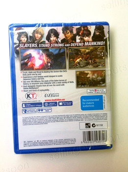 Toukiden The Age of Demons (Vita) Rare Australian Version