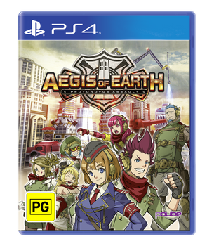 Aegis of Earth (PS4) Rare Australian Version
