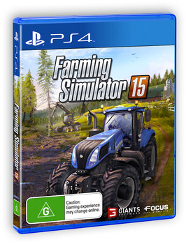 Farming Simulator 15 (PS4) Australian Version