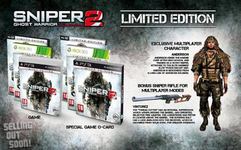 Sniper Ghost Warrior 2 (Xbox 360) Rare Limited First Edition Australian Version + Bonus Content