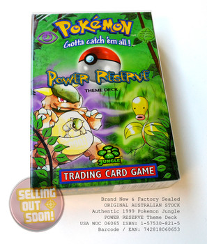 Pokemon Jungle Theme Deck POWER RESERVE (circa 1999)