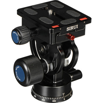 Sirui L-20S Professional 2 Way Pan/tilt Head + 6 Year Australian warranty (Large with Panning Base, Super-light Aluminium Alloy)