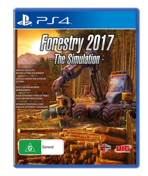 Forestry 2017 The Simulation (PS4) Rare Australian Version