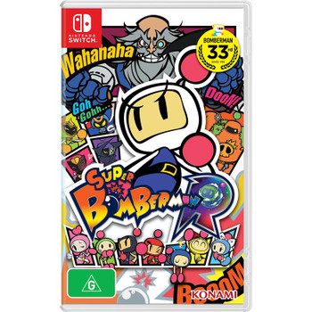 Super Bomberman R (Nintendo Switch) Australian Version