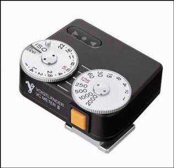Voigtlander VC II Exposure Meter - Black Only