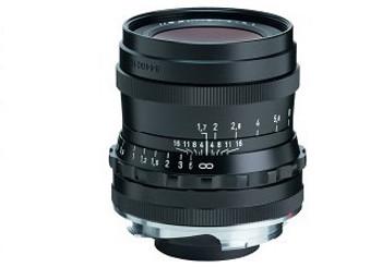 Voigtlander 35mm f1.7 Ultron Vintage Line Lens - M Mount (Black)