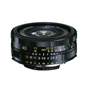 Voigtlander 40mm f2.0 Ultron SL-II Asph Lens - Nikon Ai-S (Temporarily Out of Stock)