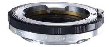 Voigtlander VM/E Close Focus Adapter - Leica M Mount Lenses to Sony E Mount Cameras