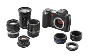 Novoflex LET/OM Adapter - Olympus OM Lenses to Leica T (SL) Camera Mount. Availability 7 to 21 days.