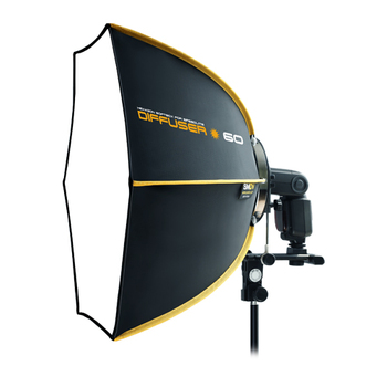 SMDV Hex Diffuser Soft Box - Speedbox 60 cm