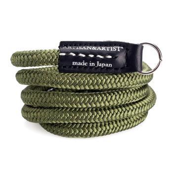 Artisan & Artist Camera Strap - ACAM-301N Woven Silk Camera Strap - Khaki