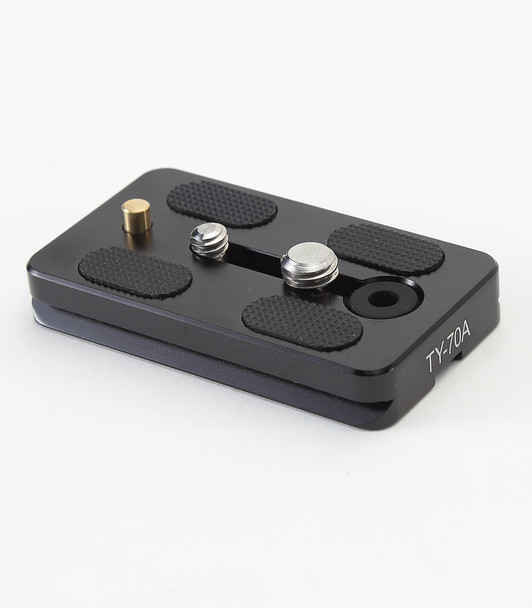 "Sirui Quick Release Plate TY-70A with 1/4"" & 3/8"" screws & video pin"
