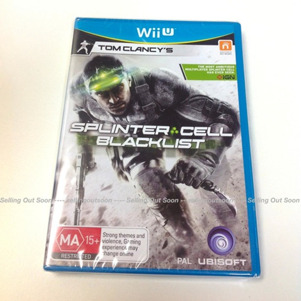 Tom Clancy's Splinter Cell Blacklist for Nintendo Wii U