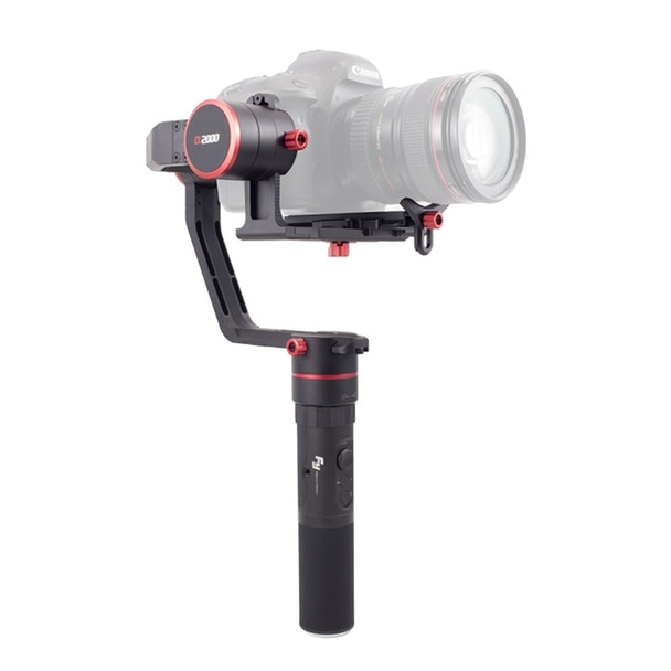 Feiyu Tech a2000 Motorised 3-Axis Gimbal Heavy Duty Dual Grip Kit