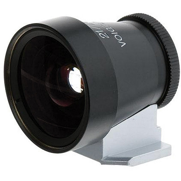 Voigtlander Viewfinder - 21/25mm Metal Black