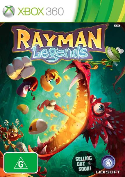 Rayman Legends (Xbox 360 + Xbox One Backward Compatible) Australian Version - Best Seller