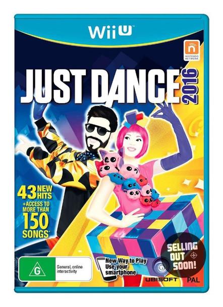 Just Dance 2016  (Wii U) Unlimited Australian Version