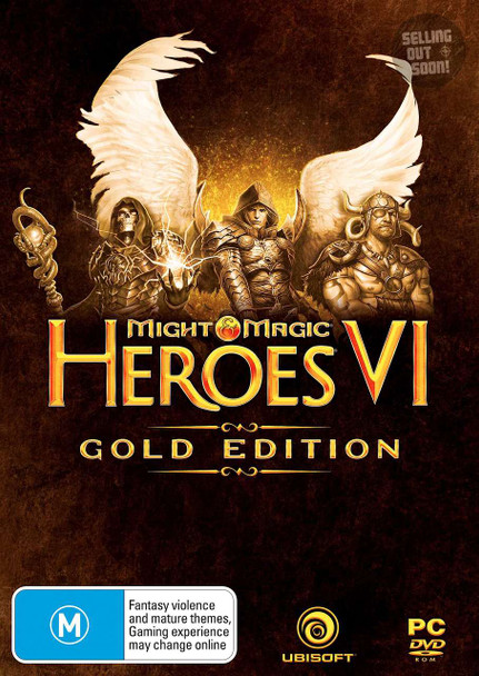 Might & Magic Heroes VI 6 GOLD EDITION (PC) Australian Version