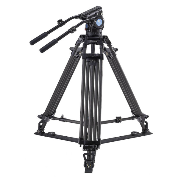 Sirui BCT-3203 Professional Video Carbon Fibre Tripod +6 Yr Aussie Wty! For Broadcast Cameras