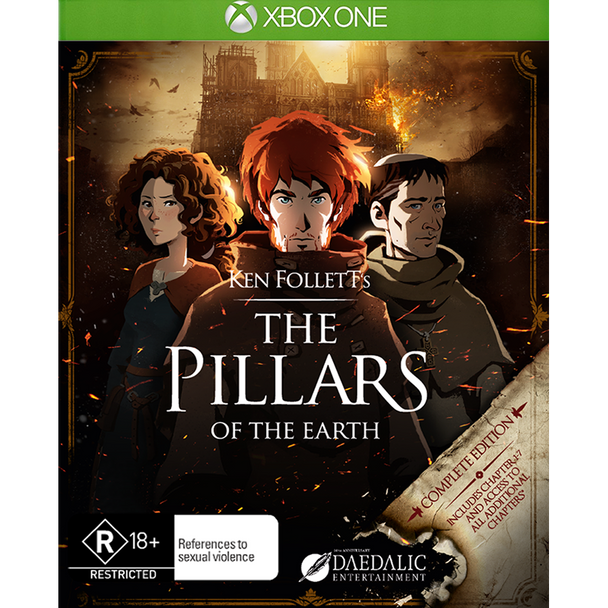 The Pillars Of The Earth (Xbox One) Rare 1st Pressing PAL Version