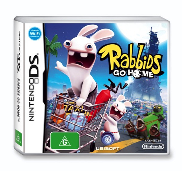 Rabbids Go Home for Nintendo DS