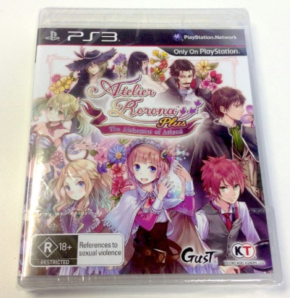 Atelier Rorona Plus: The Alchemist of Arland (PS3) Rare Australian Version