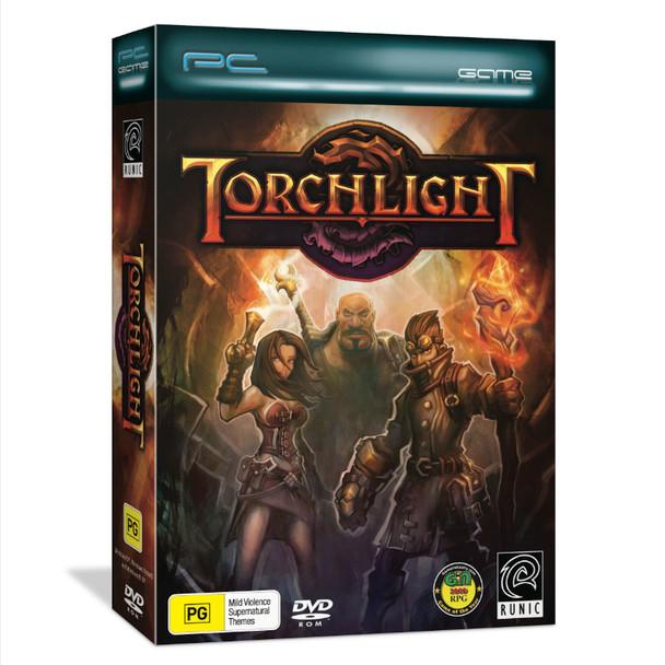 Torchlight (PC) Award-winning strategy RPG MMO + Single-player Adventure