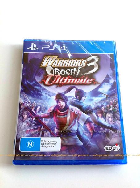 Warriors Orochi 3 Ultimate (PS4) Australian Version