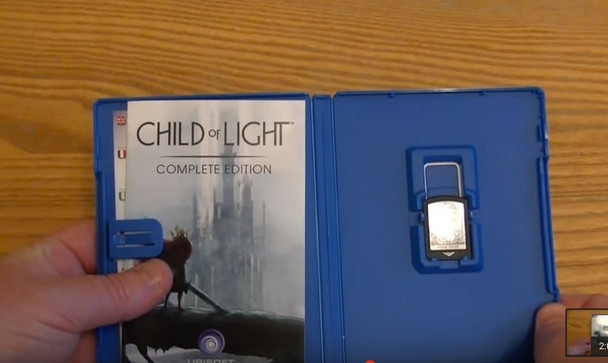 Unboxing picture courtesy of LatestVitaGames (Youtube). Pictured is the UK version, we are advertising the Australian Edition.