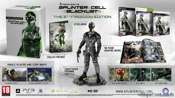 Tom Clancy's Splinter Cell: Blacklist The 5th Freedom Edition (PC)