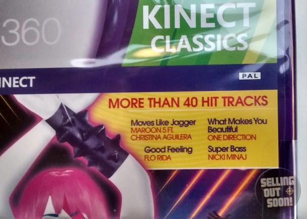 Just Dance 4 (Xbox 360) Kinect Australian Version