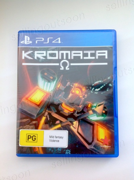 Kromaia Ω (PS4) Rare PAL Version
