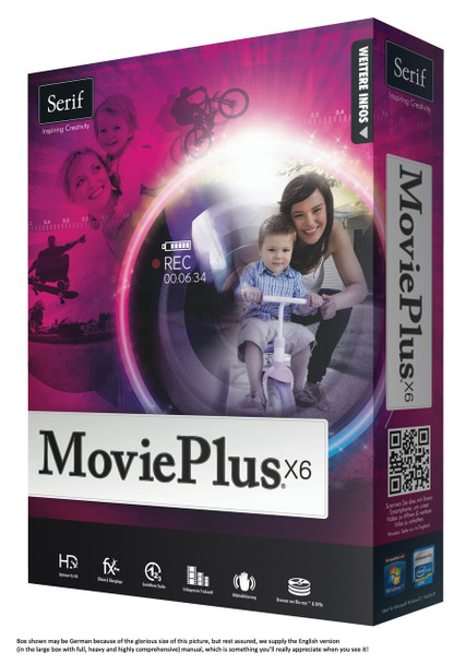 Serif MoviePlus X6: High Definition Video Editing Made Easy (PC)