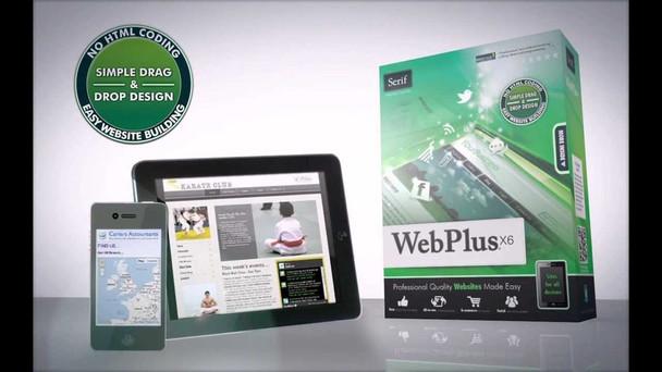 Serif WebPlus X6: Professional Quality Websites Made Easy (PC)