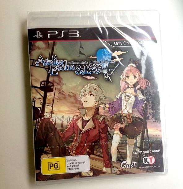Atelier Escha & Logy: Alchemists of the Dusk Sky (PS3) Rare ANZ Version