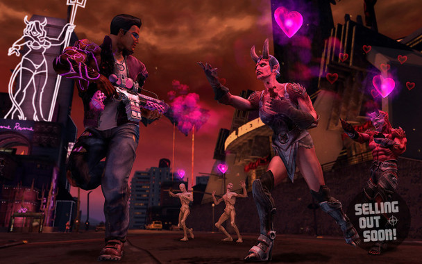 Saints Row IV Gat Out Of Hell (PC) First Edition Australian Version