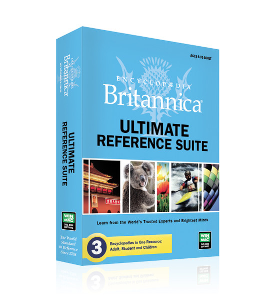 Britannica Ultimate Reference Suite (PC) Kid-Safe Learning Environment