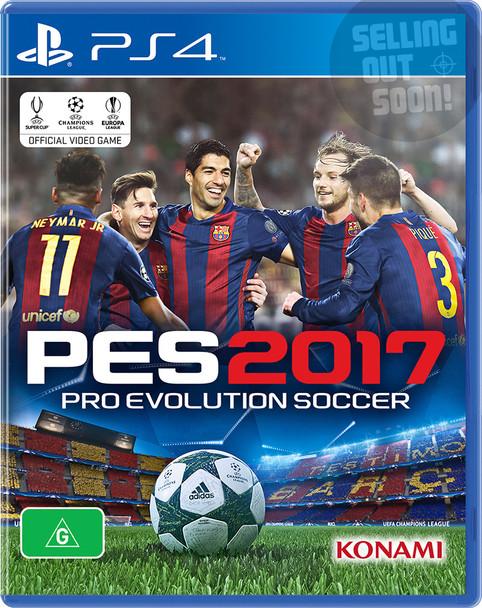 Pro Evolution Soccer 2017 (PS4) Australian Version PES 17