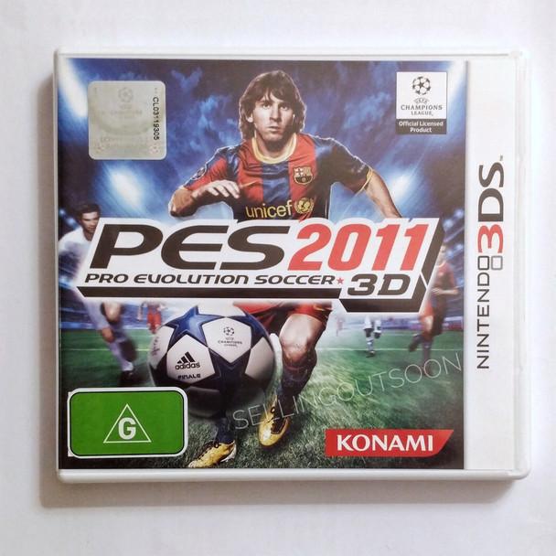 Pro Evolution Soccer 2011 (Nintendo 3DS 2DS 3DSXL n3DS) PES 11