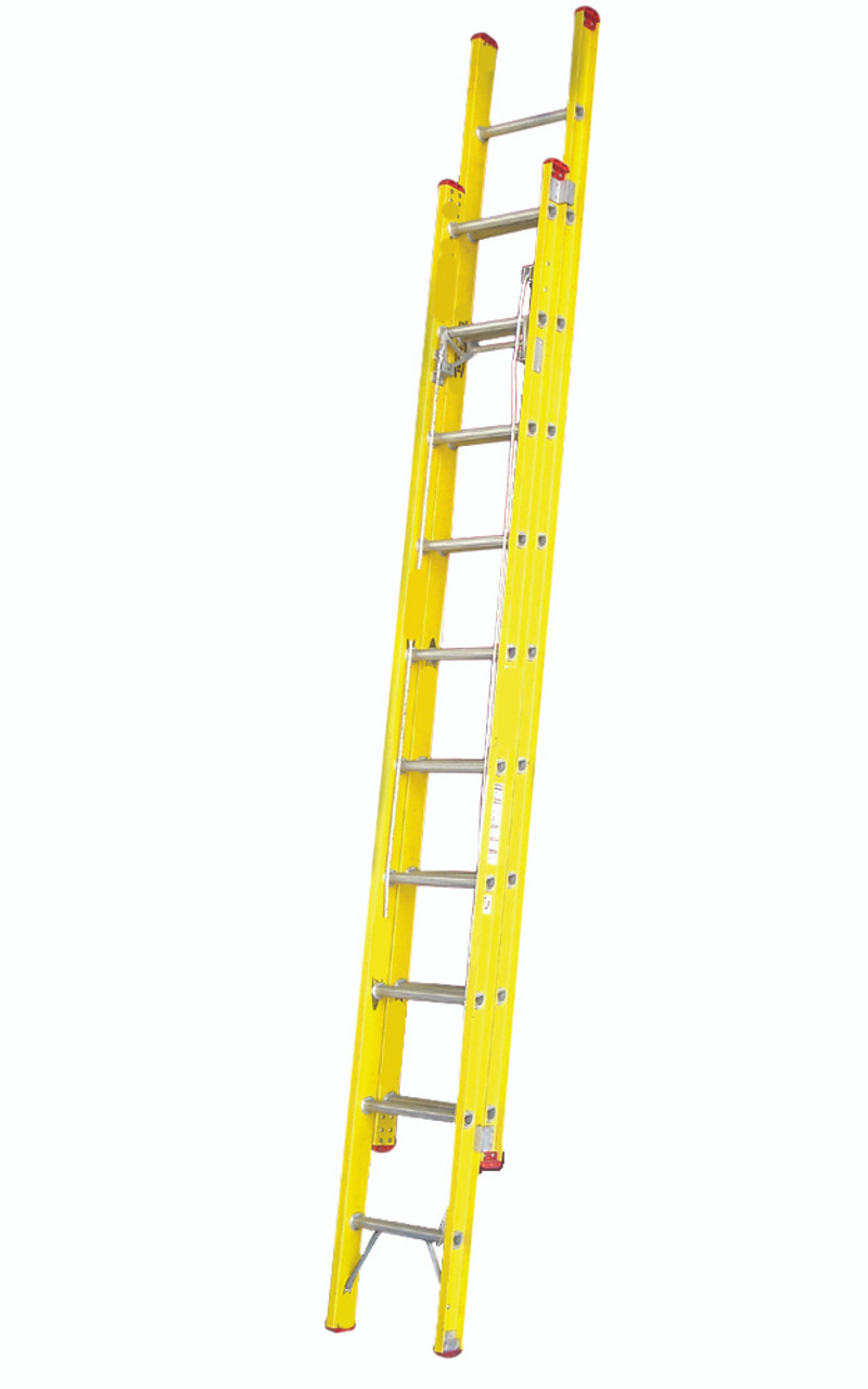 Indalex Tradesman Industrial Fibreglass Extension Ladder