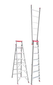 Tradesman Dual Purpose Aluminium Ladder