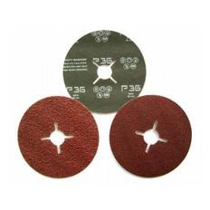 127 x 22 Fibre Discs, 25 Pack