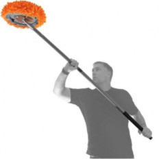 R-Duster Washable Microfibre Duster in action.