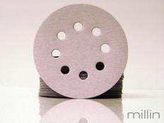 Riken 8 Hole Velcro Sanding Disks