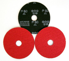 Ceramic Grain European Fibre Discs 127 x 22mm